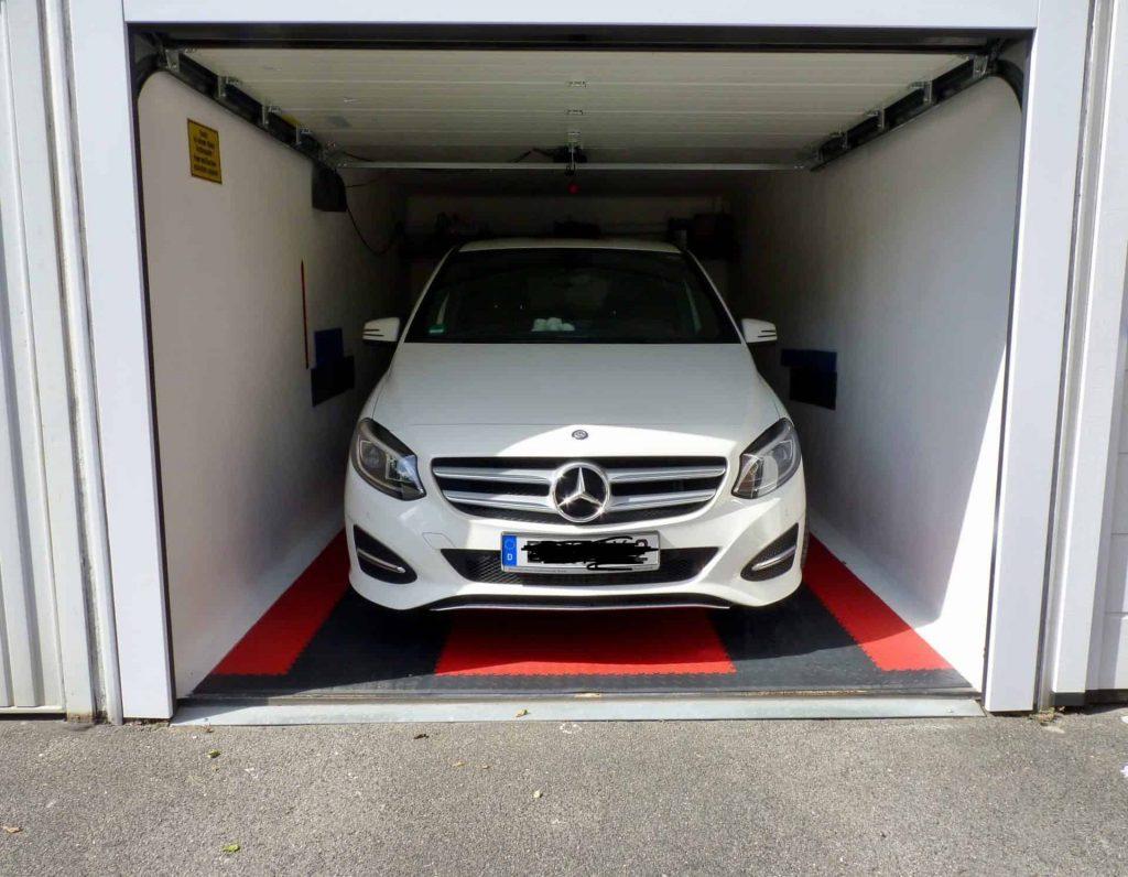 Úzka garáž, Nemecko