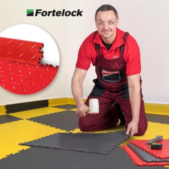 Ako inštalovať soklové lišty Fortelock? Ide to ľahko