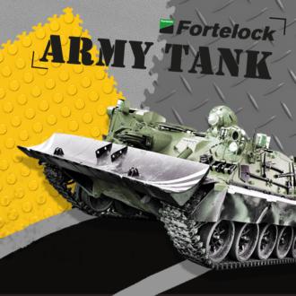 Dlaždiciam Fortelock neublížite, ani keby ste cez ne prešli tankom. A to doslova!