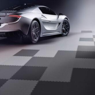 Hľadáte vhodnú podlahu do garáže pre tuningové auto?